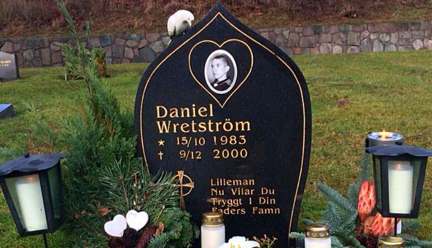 Daniel Wretströms grav