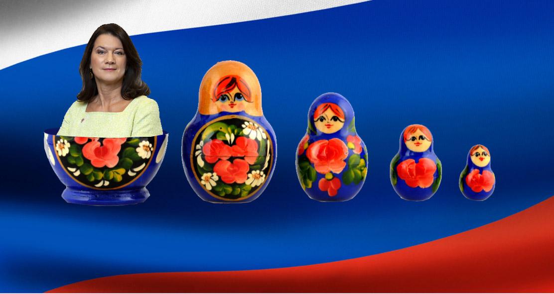 Ann Linde i Ryssland